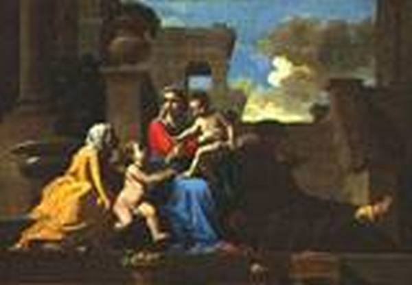 Holy family on the steps 1648 xx national gallery of art washington